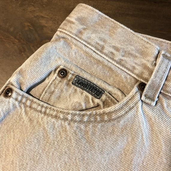 Vintage 1980s Lee Riveted Jeans Size 10P - image 7