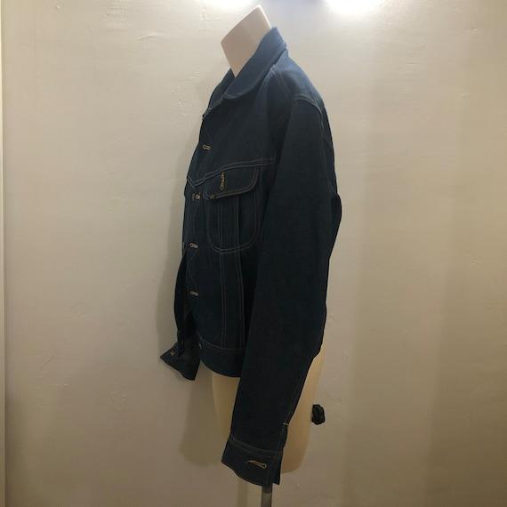 Rare NOS Vintage 60s 70s Lee Set Denim Jacket Men… - image 4