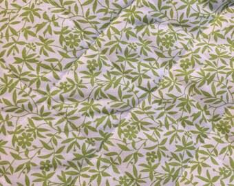 Rare 1978 Laura Ashley Vintage Reversible Cotton Quilt Fabric
