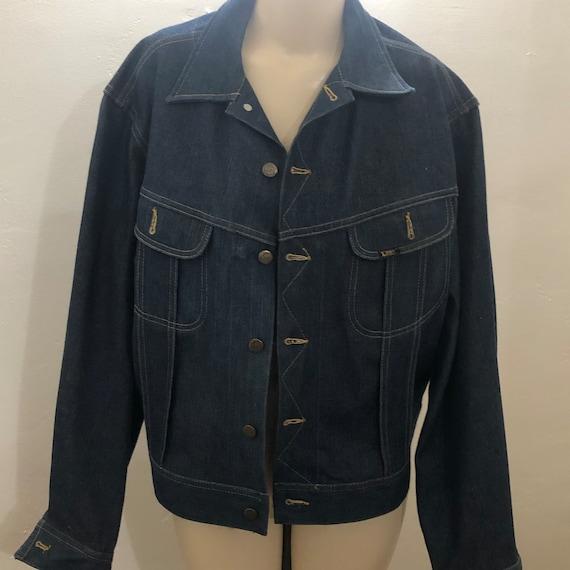 Rare NOS Vintage 60s 70s Lee Set Denim Jacket Men… - image 2