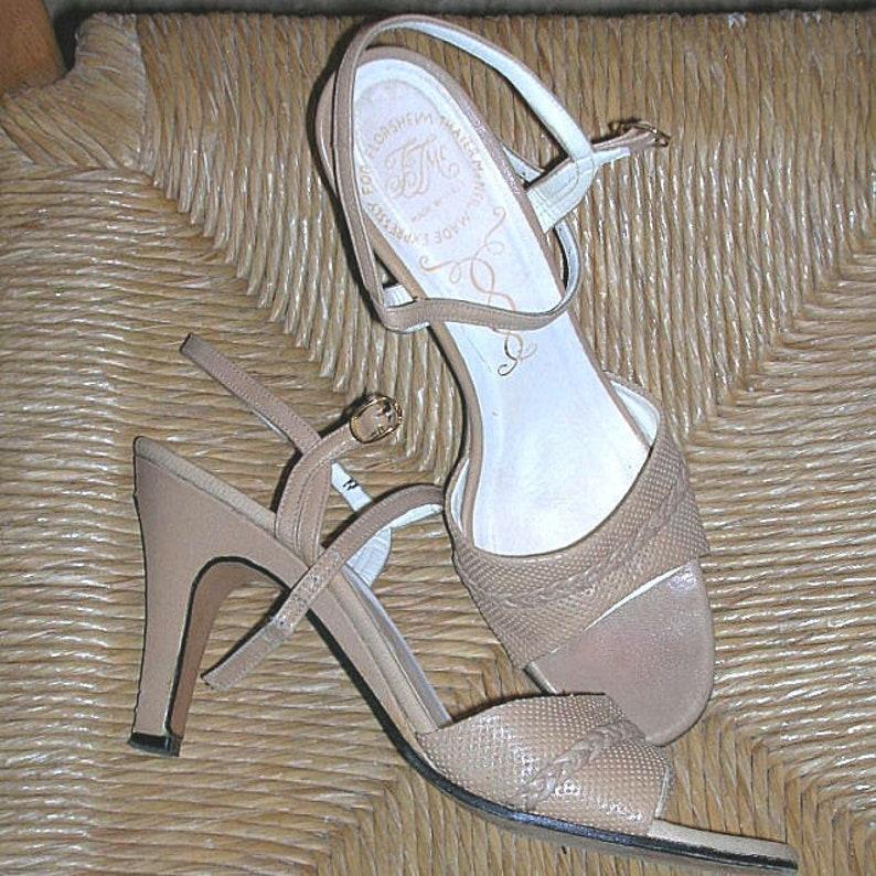 Thayer Leather Italian Sandals Florsheim Mcneil Vintage Shoes 9W2DHEI