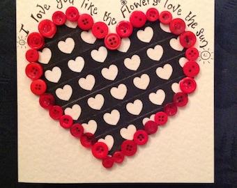 I love you - valentines-birthday-I love you- handmade gift cards
