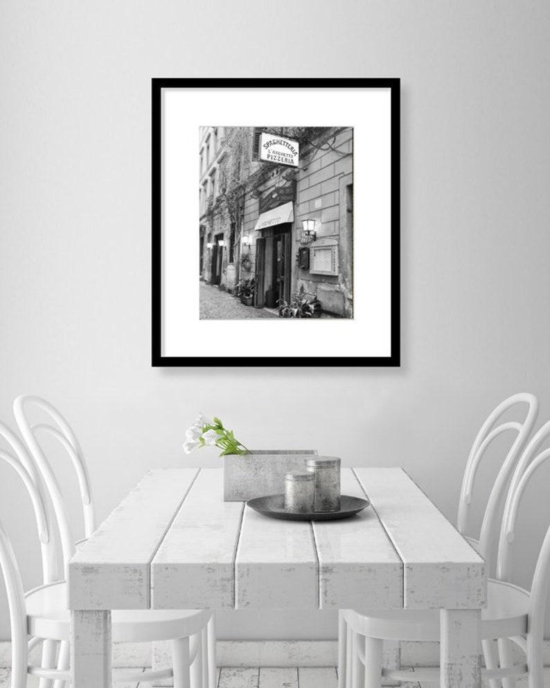 Utrolig Italien-Wand-Kunst Rom schwarz-weiß-Fotografie | Etsy XN-07