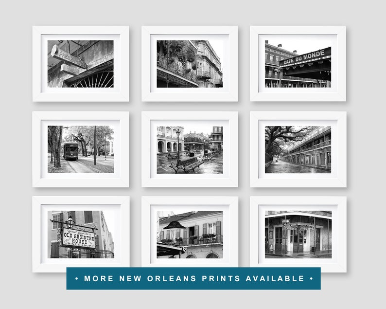 NOLA French Quarter Travel Decor New Orleans Photography New Orleans Wall Art Fine Art Print Rev Zombies Voodoo Shop