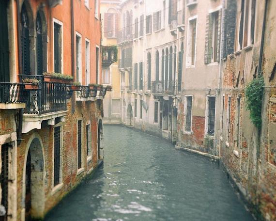 Venice Print Venice Wall Art Venice Italy Canals Travel | Etsy