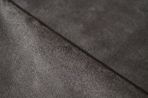 Earth Faux Suede Microfiber Upholstery Curtain Car Interior Headline Fabric