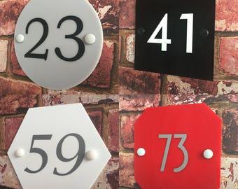 House Sign 'Alpha-S'
