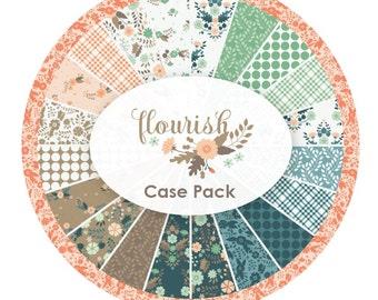 Flourish Fat Quarter Bundle - Camelot Fabrics