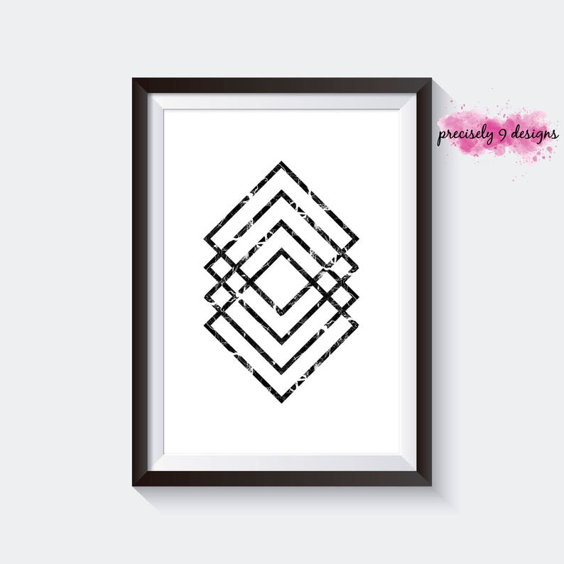 graphic regarding Diamond Printable identify Marble Multi Diamond Printable Artwork, Scandinavian Printable Poster, Black Marble Diamond Artwork, Black Diamond Poster, Marble Artwork