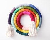 "12"" Rainbow Fiber Swirl"