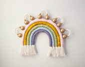 "Fiber Rainbow with Beads ""Crowned Beaut"""