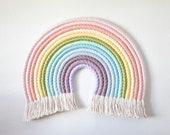 Rainbow  XXL - Fiber Rainbow Art Wall Hanging Statement