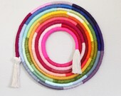 "18"" Rainbow Fiber Swirl"