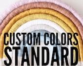 Custom Standard Rainbow Fiber Arch Custom Colors