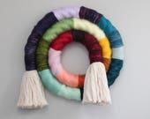 Rainbow Fiber Swirl