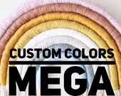 Custom Mega Fiber Rainbow Wall hanging