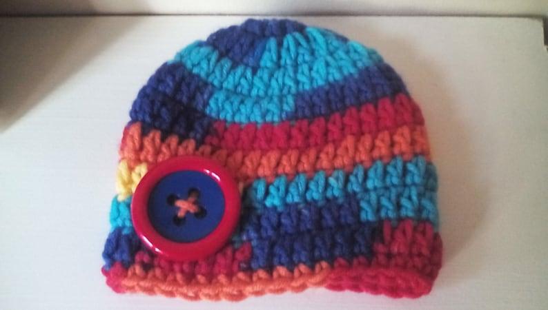 Crochet beanie hat Newborn boy hat crochet boy hat boy beanie hat baby boy  hat chunky boy hat