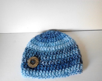 Newborn boy hat,chunky boy hat,Crochet beanie hat,crochet boy hat,baby boy  hat