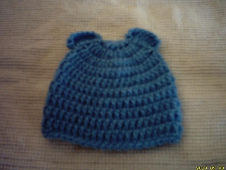 photo prop hat newborn bear hat boy beanie hat baby boy hat teddy bear hat Crochet bear hat baby hat crochet beanie hat