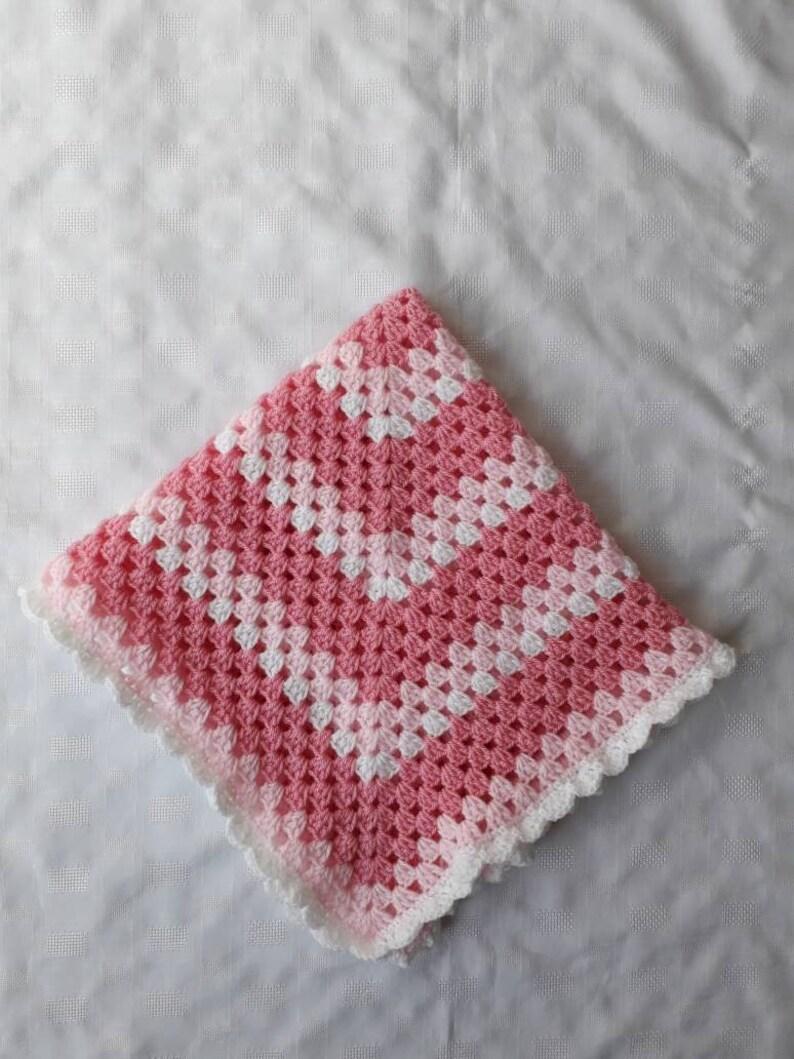 baby girl blanket baby girl blanket girl carseat blanket girl stroller blanket Crochet girl blanket,stroller blanket ready to ship