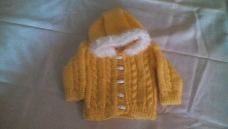 newborn girl sweater ready to ship baby hoodie girl sweater 0-3 month/'s Knitted hoodie girl baby girl sweater