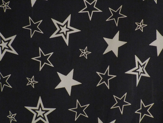 Star Print Shirt Top Star Pattern Women S Top Vintage Etsy