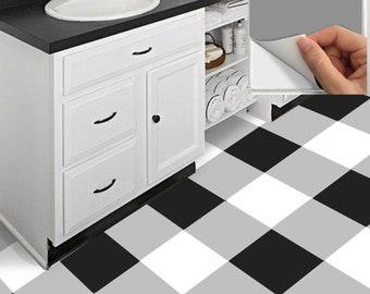 Attraktiv Fliesen Aufkleber Küche, Bad, Boden, Wand, Wasserdicht U0026 Abnehmbare Peel N  Stick: A76 Buffalo Checker
