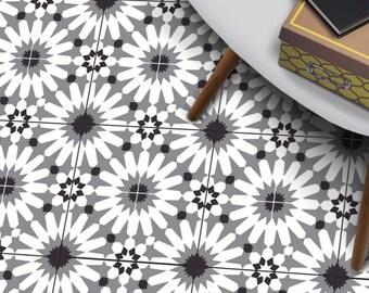 Boden Fliesen Aufkleber Vinyl Aufkleber Wasserdicht Abnehmbar Für Küche Bad  A84 Grau