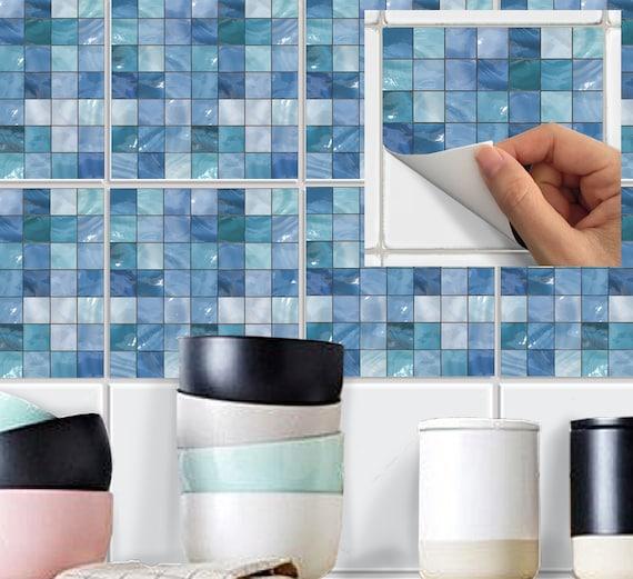 wand fliesen aufkleber aufkleber wasserfeste vinyltapete. Black Bedroom Furniture Sets. Home Design Ideas
