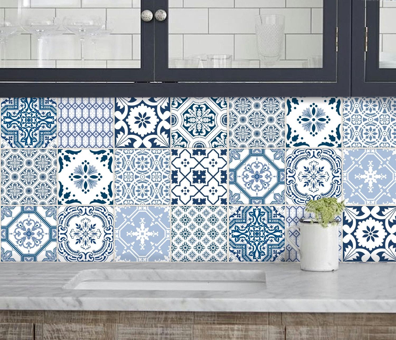 - Kitchen Bathroom Tile Decals Vinyl Sticker : Portugal Etsy