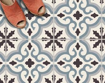 Tile Sticker Kitchen, bath, floor, wall Waterproof & Removable Peel n Stick: A65