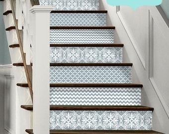 15 Strips Of Stair Riser Vinyl Decal ...