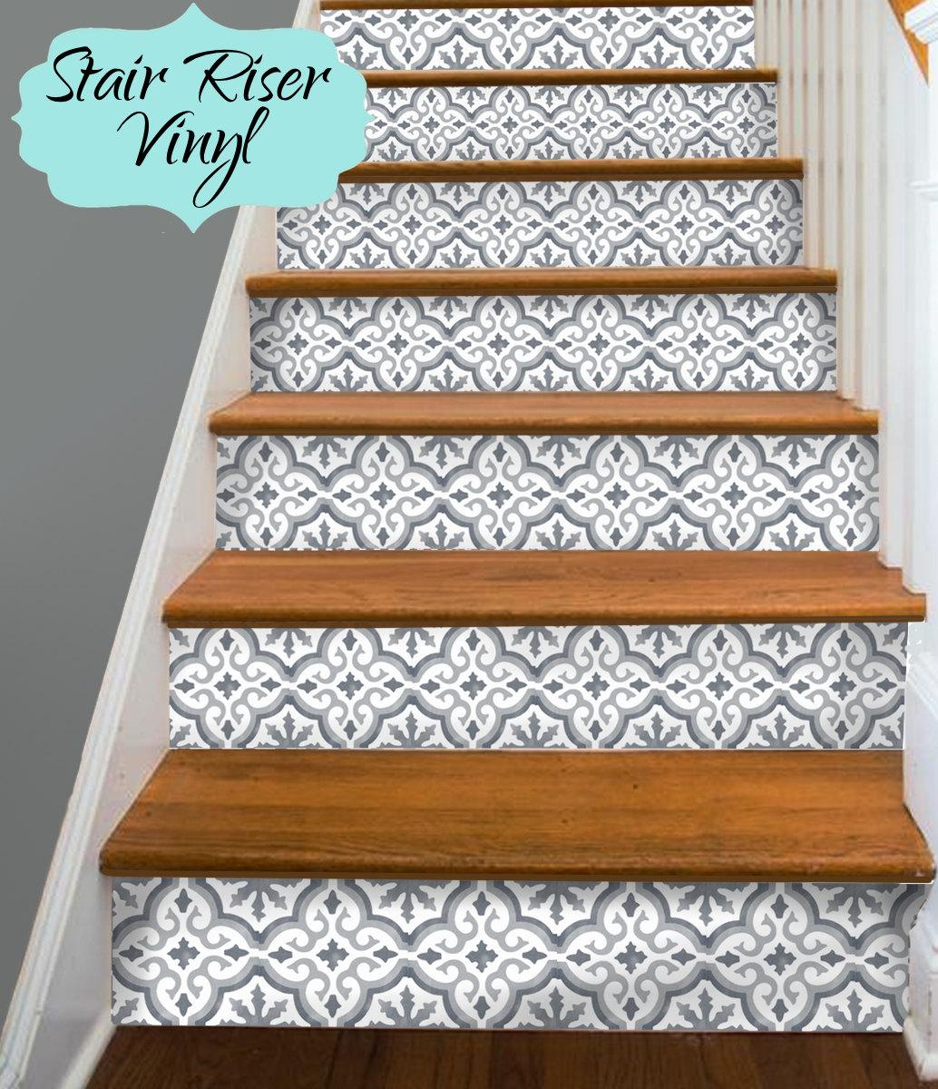 15 Streifen Stair Riser Vinyl Aufkleber abnehmbare Aufkleber | Etsy
