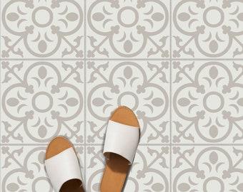 Tile Sticker Kitchen, bath, floor, wall Waterproof & Removable Peel n Stick: A62 Gray