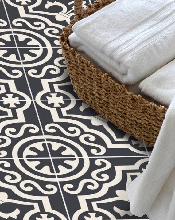autocollant de tuile pour cuisine salle de bain sol mur etsy. Black Bedroom Furniture Sets. Home Design Ideas