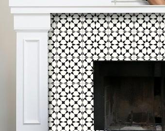 Tile Sticker Kitchen, bath, floor, fireplace Waterproof & Removable Peel n Stick: Bx302