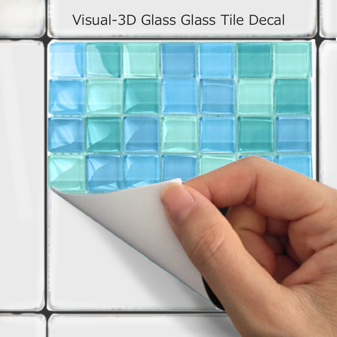 Küche Bad Fliesen Aufkleber Vinyl Aufkleber: Mosaik MS006 | Etsy