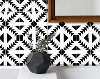 Tile Sticker Kitchen, bath, floor, wall Waterproof & Removable Peel n Stick: W010
