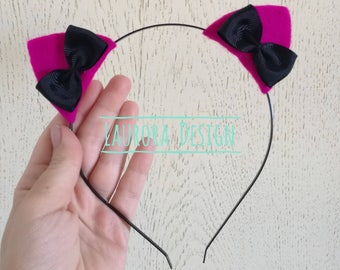 KITTEN EARS headband kitty cat ears kitten play ears kawaii headband pastel goth headband cute girl headband kitten costume halloween ddlg