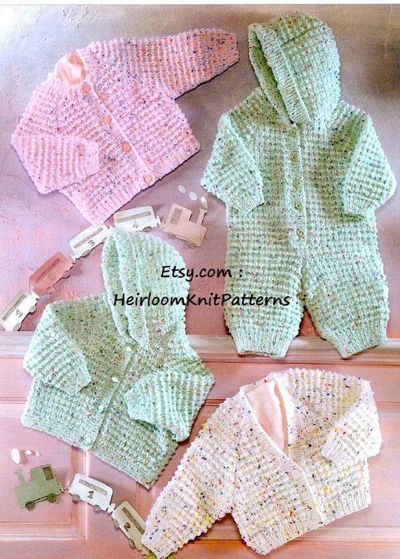 Baby Knitting Pattern PDF Baby Child Boy Girl Cardigans Jacket | Etsy