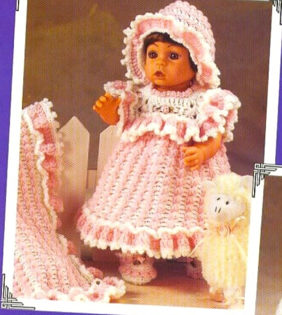 Vintage Crochet Pattern For Sweet Hooded Jacket For Baby ONLY £2.20 FREE P/&P