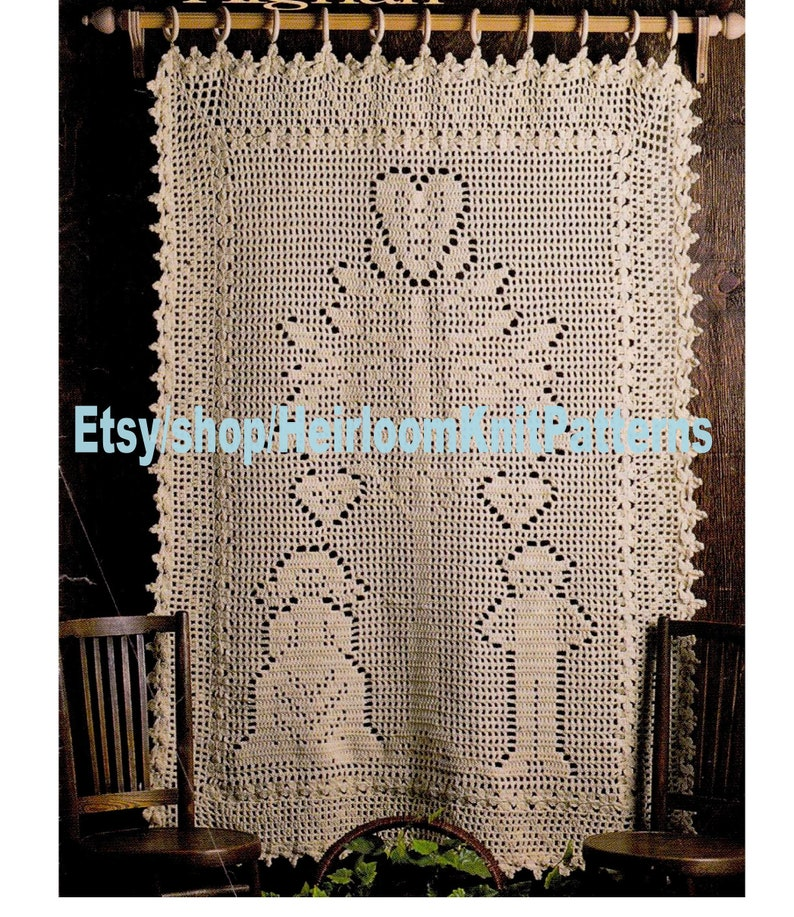 Tree of Life Afghan Vintage Crochet Pattern PDF Rare Unique Wedding Baby  Gift Anniversary Afghan Blanket Quilt Digital Download PDF - 2336