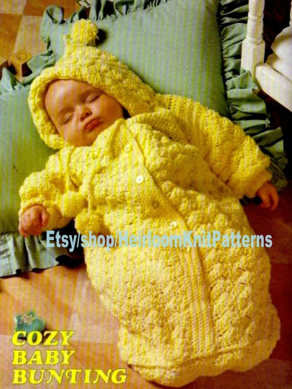 Vintage Sock Doll Pattern ~ Boy /& Girl Sleepy Time Kids