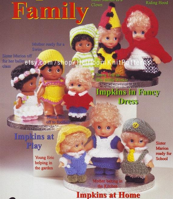 Impkin Doll Clothes Knitting Pattern Impkins Family Etsy