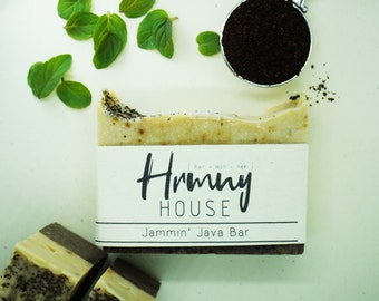 Jammin' Java Bar - Natural Soap Organic Ingredients