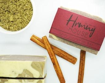 Spicy Cinnamon Bar - Palm Oil Free Soap