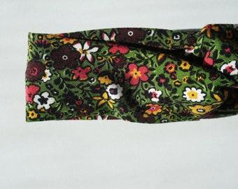 Flower Field Turban Headband