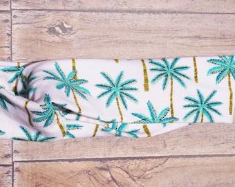 Palm Tree Turban Headband