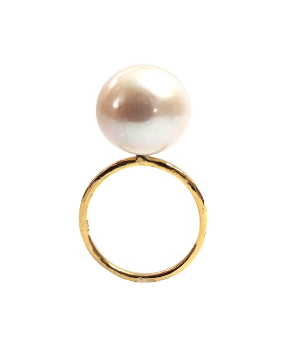 One Pearl ring