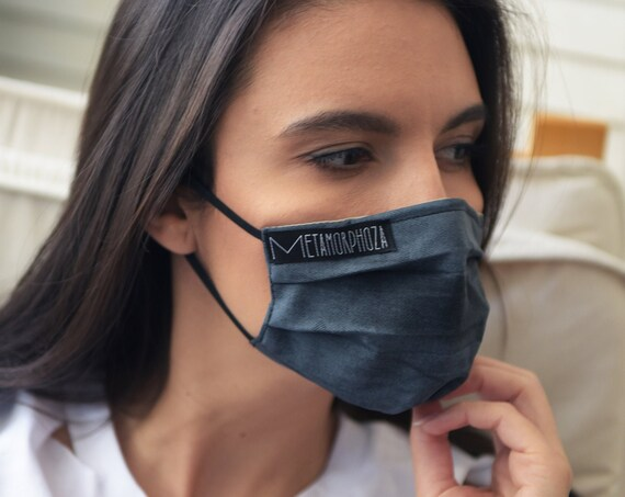 NEW Reusable Protection Mask/Face Mask with Filter/OEKO Certificate Filter Mask/Washable Mask/Grey Safety Mask/Comfortable Face Mask
